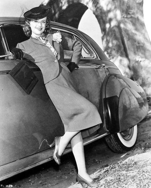 Priscilla Lane,actress.
