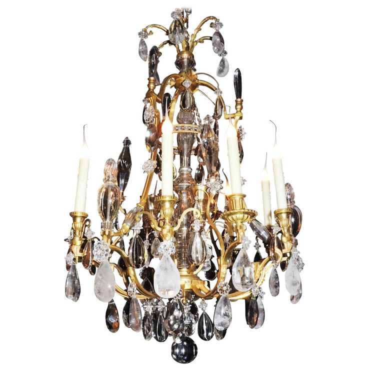 Louis Philippe French Doré Bronze and Rock Crystal Twelve-Light Chandelier - 28 Best Rock Crystal Chandelier Images On Pinterest Crystal