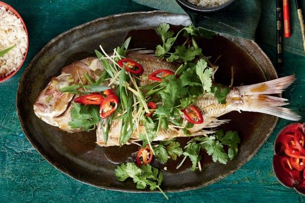 Ring in Chinese New Year with this wok-poached snapper with a ginger kick!