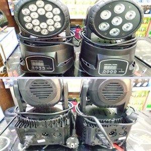 Lampu Panggung Moving Head Mini Beam 18 x 3 watt IDR : 1.200.000 SMS & TLP 082244885838 | 082231029992 PIN BB : 51D53F9A / D04C399C