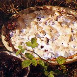 Björnbärspaj med citron-creme fraiche - Recept http://www.dansukker.se/se/recept/bjornbarspaj-med-citron-creme-fraiche.aspx #paj #recept #blackberry