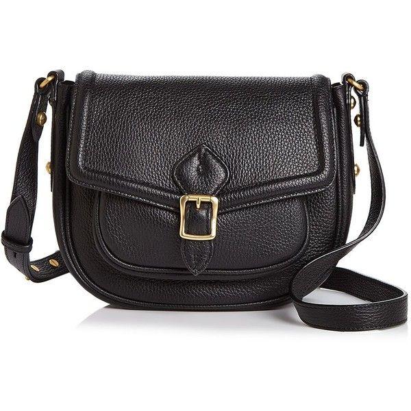 Annabel Ingall Dakota Leather Saddle Bag ($385) ❤ liked on Polyvore featuring bags, handbags, shoulder bags, leather saddle bag purse, leather handbags, leather saddle bag handbags, genuine leather purse and real leather handbags