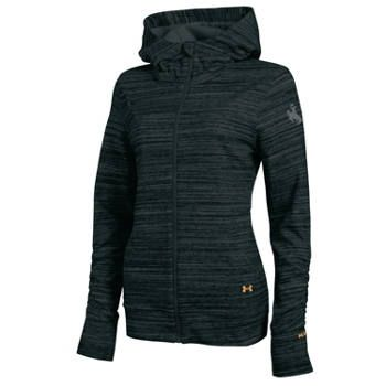 University of Wyoming Cowboys Under Armour Women's Storm Studio Hoody-Black I WANT THIS