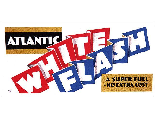 Atlantic White Flash poster, 1937