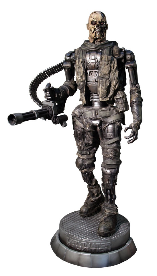 T-600 life-size figure