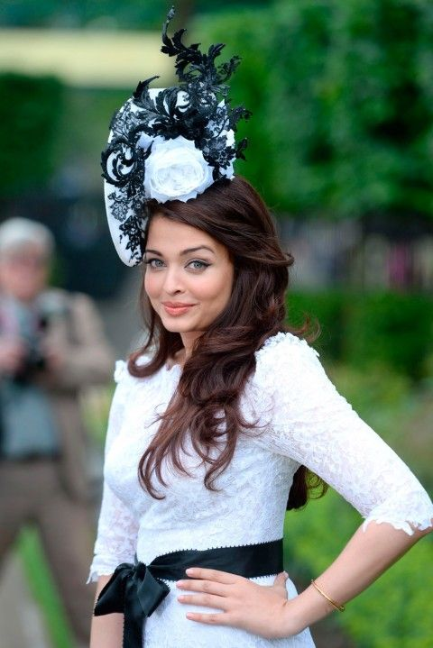 Royal Ascot 2013 -Bollywood superstar Aishwarya Rai
