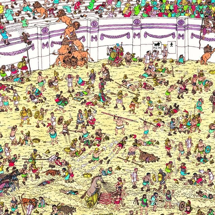 Keep searching...#WheresWally?