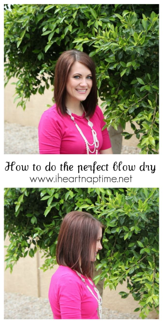 How to do the basic blow dry - video tutorial