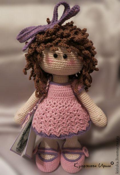 Crochet amigurumi doll. Человечки ручной работы. Ярмарка Мастеров - ручная…
