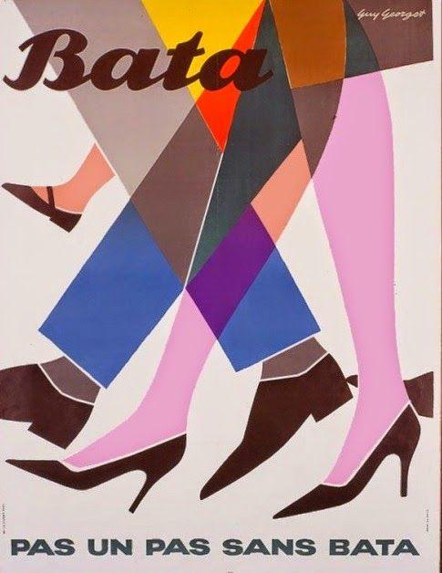 Pas un pas sans Bata, Guy Georget, France, Est. 1950
