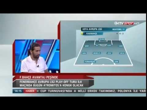 NTV Spor | Mehmet Yozgatlı Atromitos Fenerbahçe Maçı Yorumu | 20 Ağustos 2015 - YouTube