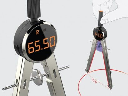 Compass with LCD Monitor by Cheol Woong Seo & Jae Hee Park