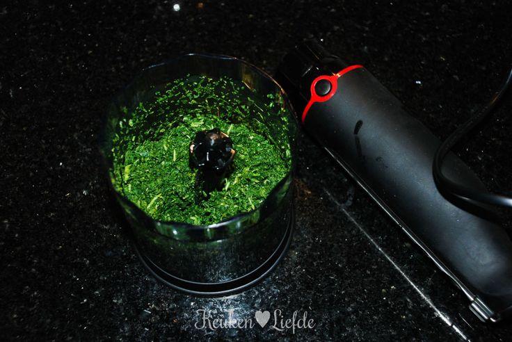 Boerenkoolquiche met rookworst - Keuken♥Liefde