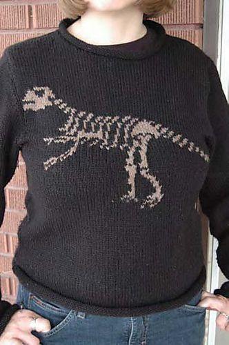 Ravelry: Paleontology for Grown Ups pattern by Jennifer Still
