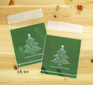 Korean Adhesive Sealable Gift Bag Set  Big Christmas by Jsgiftland