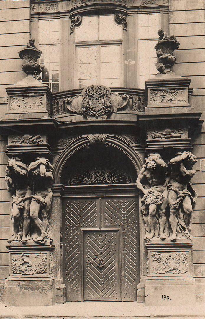 Reach, Zikmund - Clam-Gallasův palác (The Clam-Gallas Palace), gelatin silver print