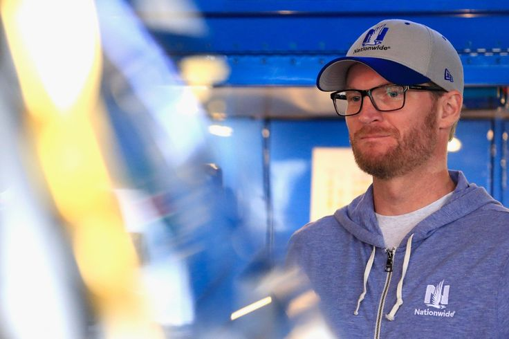 Dale Earnhardt Jr. proposed to his wife on a trip to Germany to study the family's history. It says a lot about the current political climate that a simple tweet showing common sense and humanity from Dale Earnhardt Jr. is considered noteworthy. Junior said Tuesday he wasn't trying to get political with his tweet.