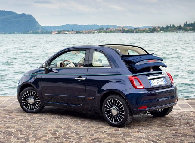 Fiat 500 Riva : Ravissante !