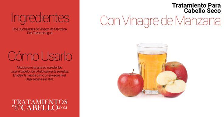 Limpieza del Cabello con Vinagre de Manzana | Los Mejores 20 Tratamientos Caseros Para El Cabello Seco