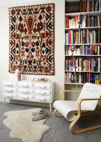 Rya wall rug, Finland