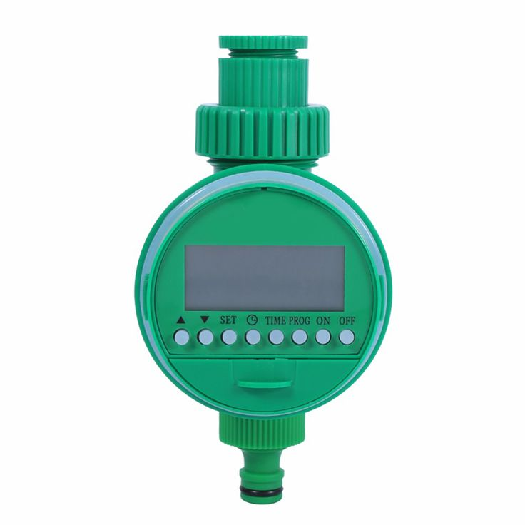 LCD Water Timer Waterproof Automatic Watering Timer Electronic Garden Irrigation Timer Solenoid Valve Sprinkler