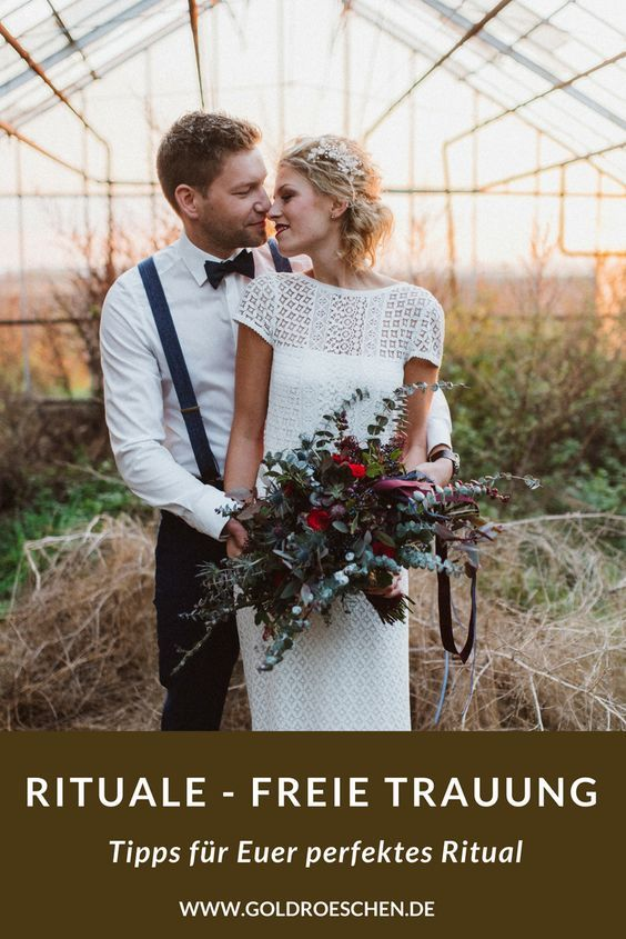 Rituale Fur Eure Freie Trauung Hochzeit Pinterest