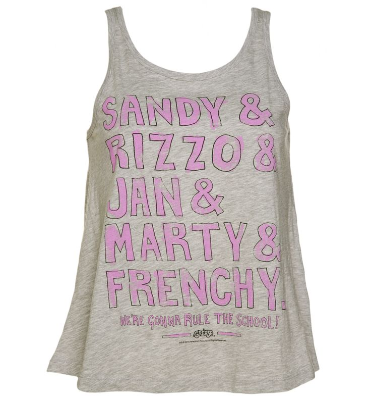 Ladies #Grease Pink Ladies Line Up Swing #Vest from TruffleShuffle xoxo