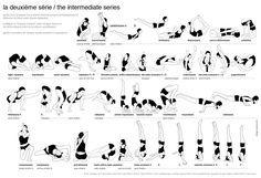 ashtanga yoga intermediate series - deuxieme serie