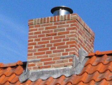 Schoorstenen ter behoefte van afvoering rook en damp
