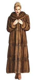 russian fur coats for women | The Furcenter's collection of Sable Fur Coats, Strollers and Jackets