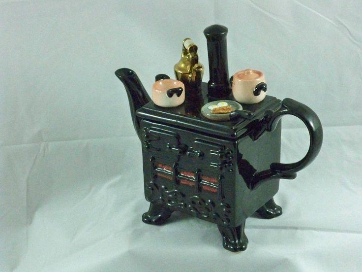 Vintage Collectible SouthWest Ceramics 1989 Wood Stove Teapot England Black - 25+ Best Ideas About Englander Wood Stove On Pinterest Wood