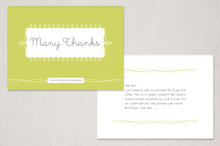 product spotlight: client correspondence cards