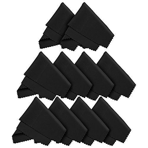 10x Mikrofaser Reinigungstücher 18x15 cm zur Reinigung von LED Bildschirm, Tablet, Smartphone, Laptop, Notebook, Touchscreen Display, Brillen, Kamera Objektive, Glas. Tücher auch zum Reinigen von macbook, ipad und iphone (Apple) LetsSwipeThat http://www.amazon.de/dp/B01A5ZMPRK/ref=cm_sw_r_pi_dp_Uz-6wb02YS34R