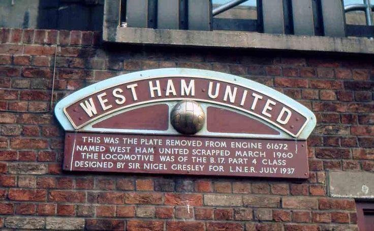 west ham united steam loco - Google Search