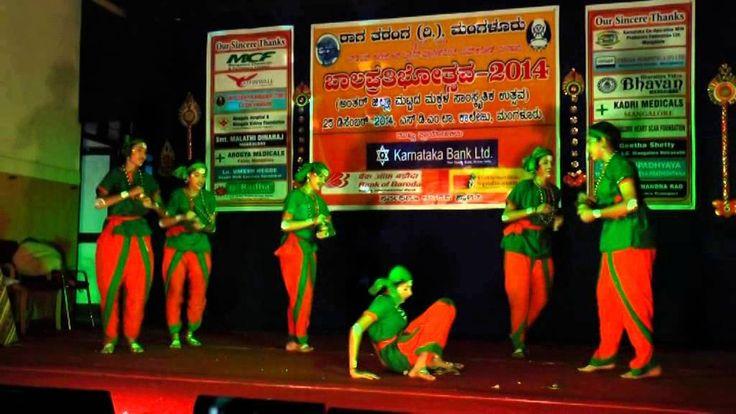 Karnataka Folk Dance by Vandana Rani and team of Canara Girls High School, Dongekery, Mangalore, Karnataka, India, dance performance was on 25th of December 2014. Kamsale dance performance was in the occasion of Bala Pratibhotsava-Distrct level inter school competition organised by Raga Taranga...  https://www.crazytech.eu.org/karnataka-folk-dance-performance-kamsale/