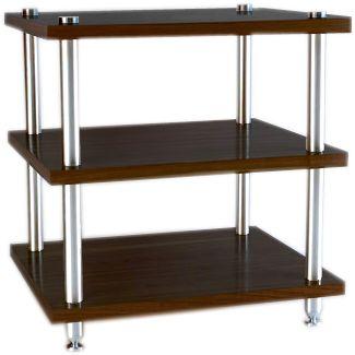 w m audio meuble 3 niveaux bois palissandre ce meuble en bois d 39 une paisseur de 25mm. Black Bedroom Furniture Sets. Home Design Ideas