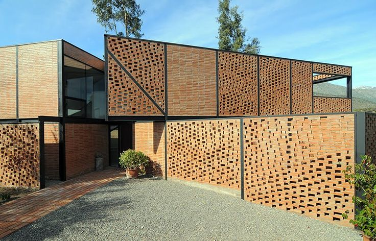 Bricks on pinterest - Casas de ladrillo rustico ...