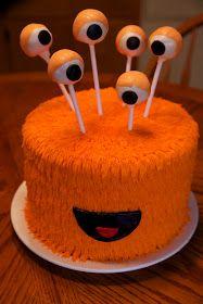 the cake box: Monster birthday cakes