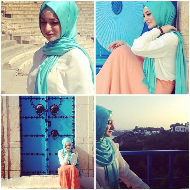 Ve Şemsti özlenen, kavrulurken şems ile.. ❤ hijab style