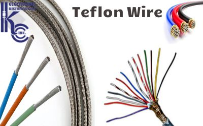 Also known as PTFE wires, is able to tolerate a very high temperature of around 200 C, thus they are found to be widely used in many different electronic applications.