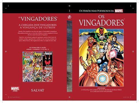 Os Vingadores - Nº 1 I Os heróis mais poderosos da Marvel