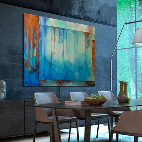Art modern Peinture abstraite Peinture moderne. 200 x par Artoosh