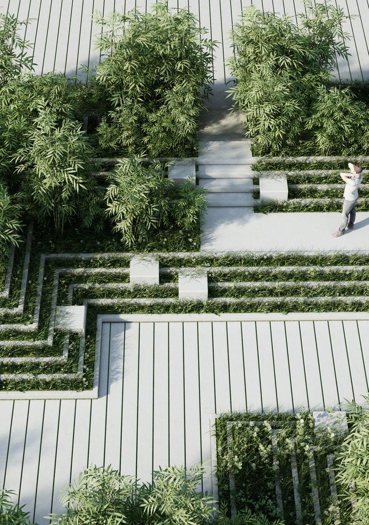 ⇢ #Arquitectura con jardines  Lo natural inspira el #diseño de vanguardia #FridayFinds