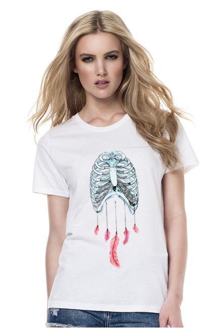 T-shirt DREAMCATCHER CHEST SHOCK share&block