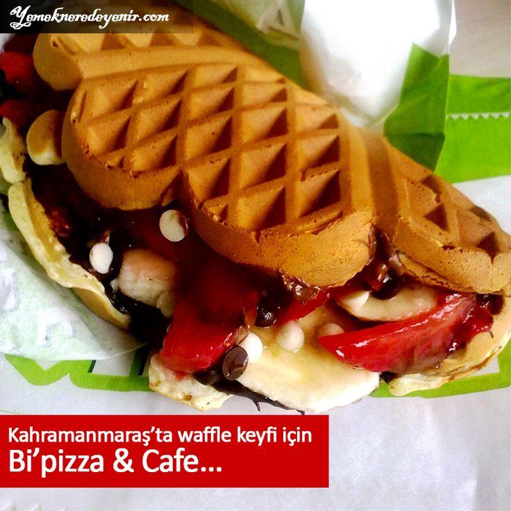 #Kahramanmaraş'ta waffle keyfi için Bi'pizza & Cafe..  Ayrıntılı bilgi için linke tıklayınız ---> http://kahramanmaras.yemekneredeyenir.com/bipizzacafe  #Waffle #Pizza #Cafe #Tatlı #Yemekneredeyenir