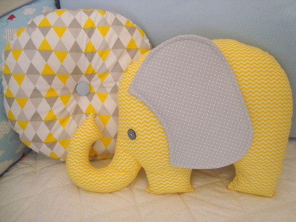 Conjunto Almofadas Elefante