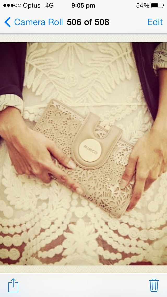 A little bit of lace and a lot of Mimco please!
