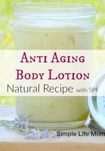 Natural anti aging body lotion recipe with shea butter, argan, apricot kernel oil and essential oils for total anti aging body lotion with only organics.