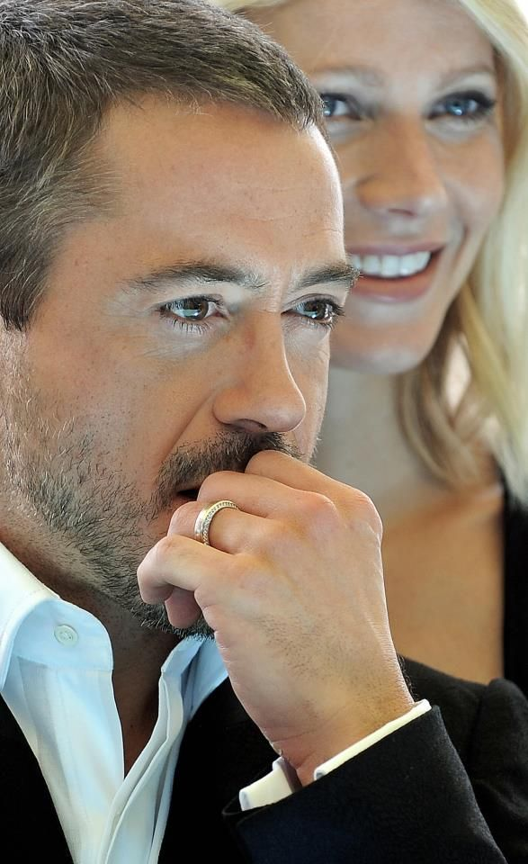 Robert Downey Jr. and Gywneth Paltrow