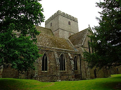 Brecon cathedral Wales